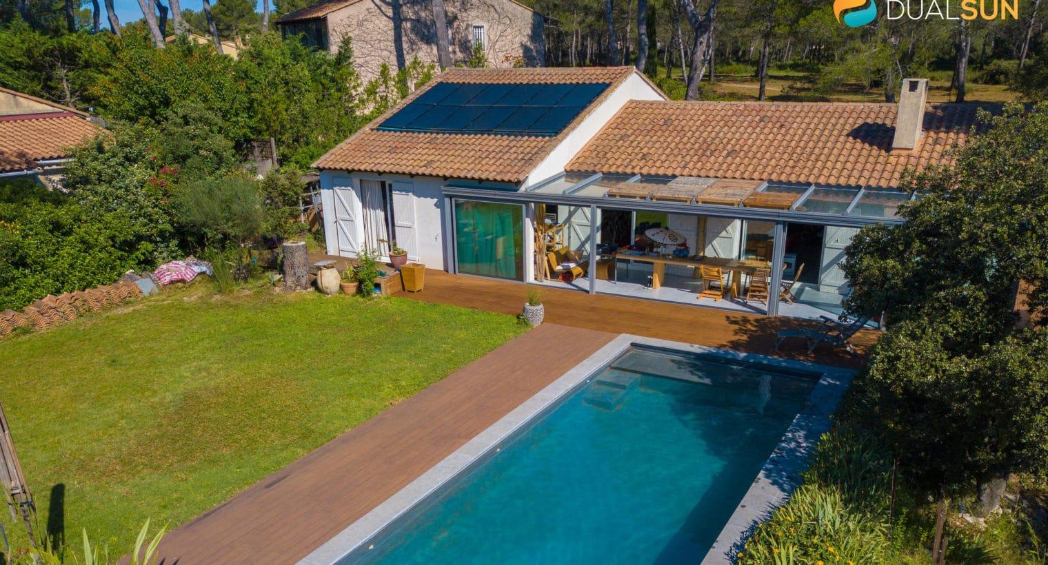 panneaux solaires hybrides, dual sun, pv