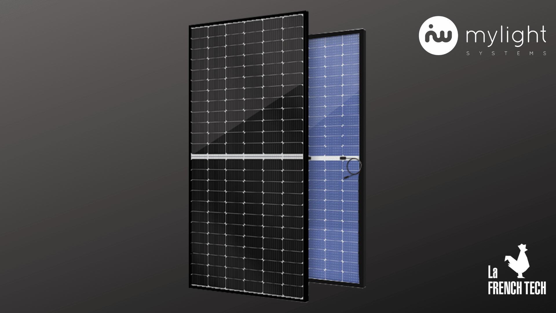 panneau solaire bifacial, mylight systems, énergie renouvelable, garantie 30ans, technologie